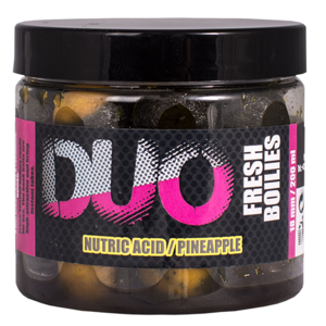 Lk baits boilie duo x-tra fresh nutric acid/pineapple - 150 ml 14 mm