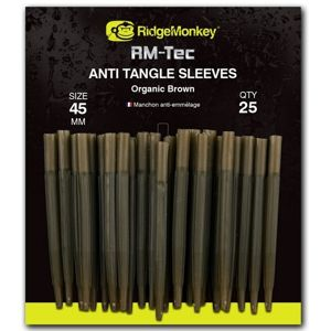 Ridgemonkey převleky proti zamotání anti tangle-25 mm organic brown