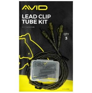 Avid carp montáž na olova outline lead clip tube kit