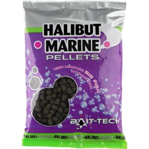Bait-tech pelety s dírkou halibut marine 14 mm 900 g