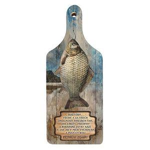 Bg dekorační kuchyňské prkénko pro rybáře