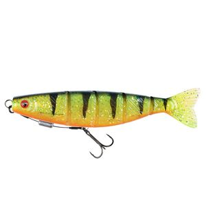 Fox rage gumová nástraha pro shad jointed loaded uv firetiger - 14 cm 31 g