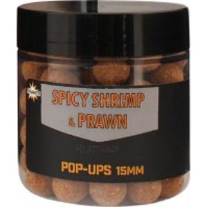 Dynamite baits foodbait spicy shrimp & prawn pop-ups 15 mm