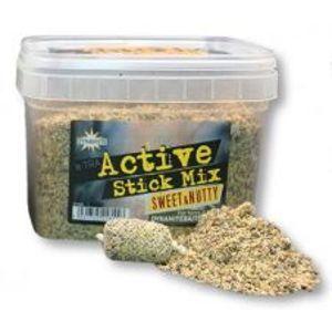 Dynamite Baits Vnadící Směs X-Tra Active Stick Mix Sweet Nutty-650 g