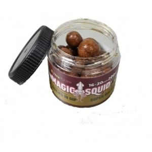 Extra Carp boilie in Dip Magic Squid Super Halibut 200 ml 16/20 mm