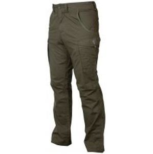 Fox Kalhoty Collection Green Silver Combat Trousers-Velikost XXXL