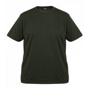 Fox Tričko Green Black Brushed Cotton T Shirt-Velikost M