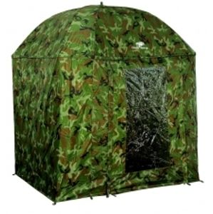 Giants Fishing Deštník Full Cover Square Camo Umbrella 250 cm