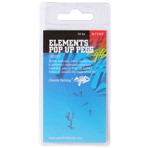 Giants fishing kolíček s očkem elements pop up pegs 5 mm 10 ks