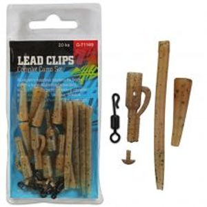 Giants Fishing Montáž Na Olovo Lead Clips Complet Camo Set