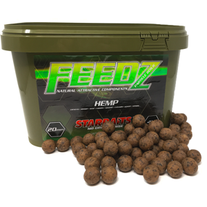 Starbaits boilies feedz 14 mm 4 kg-hemp