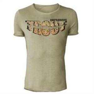 HOTSPOT DESIGN Vintage tričko Trout Explosive-Velikost  L