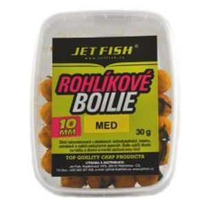 Jet Fish rohlíkové boilie 30g 10mm-Švestka/Scopex