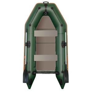 Kolibri člun km-260 d zelený pevná podlaha nafukovací kýl