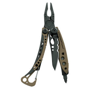 Leatherman nůž multitool skeletool coyote tan