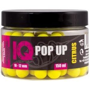 LK Baits Boilie IQ Method Feeder Pop UP Fluoro 150 ml 10-12 mm-citrus