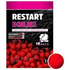 LK Baits Boilie ReStart Wild Strawberry-5 kg 20 mm