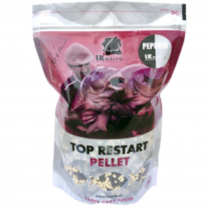 LK Baits Pelety Top Restart Pellets Peperin 1 kg-4 mm