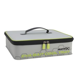 Matrix pouzdro na nástrahy eva  bait cooler tray light grey inc 4 tubs