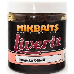 Mikbaits liverix boilie v dipu  250 g-mazaná škeble 16mm
