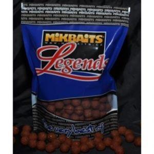 Mikbaits boilie Legends 2,5 kg 24 mm-BigMiKs + BigS oliheň&javor