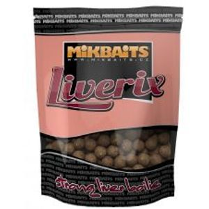 Mikbaits boilie LiveriX 1 kg 24 mm-mazaná škeble