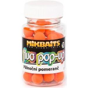 Mikbaits Plovoucí Boilie Fluo 60 ml 10 mm-jahoda exclusive
