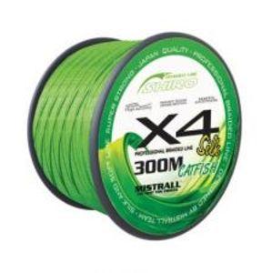 Mistrall Splétaná Šňůra Green Catfish 300 m-Průměr 0,40 mm / Nosnost 48,2 kg