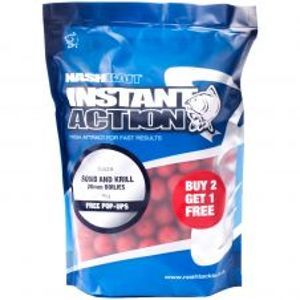 Nash Boilies Instant Action Squid Krill-20 mm 5 kg