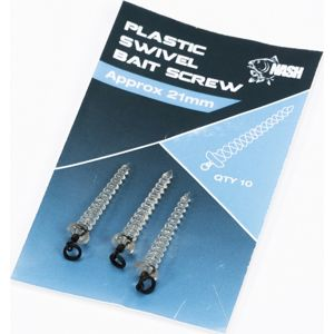 Nash držák nástrahy plastic swivel bait screw 21 mm