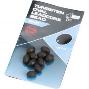 Nash Težké Korálky Tungsten Oval Leadcore Beads 8 mm