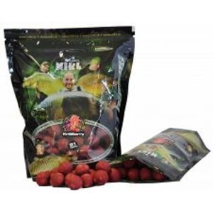NIKL Hotové boilie KrillBerry READY-21 mm, 3 kg