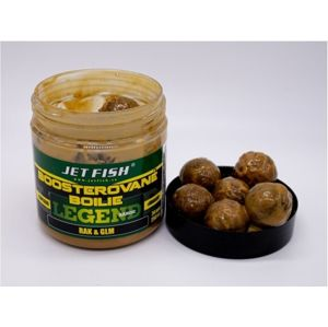 Jet fish boosterované boilie legend range 250 ml 24 mm - rak & glm