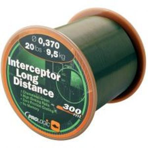 Prologic Vlasec Interceptor Long Distance 300 m Green-Průměr 0,25 mm / Nosnost 5,5 kg