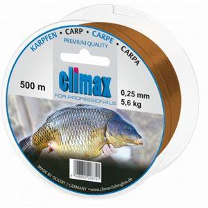 Climax vlasec carp profesional hnědý-průměr 0,30 mm / nosnost 7,8 kg / návin 400 m