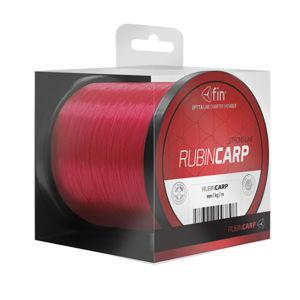 Fin vlasec rubin carp červená 600 m-průměr 0,33 mm / nosnost 20,7 lbs