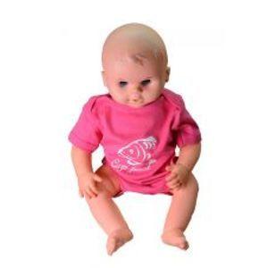 R-SPEKT Baby body Carp friend pink-VELIKOST 6-12 měs.