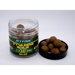Jet fish boosterované boilie legend range rak glm 20 mm 250 ml