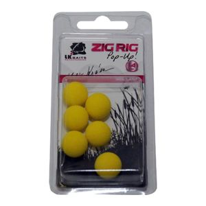 Lk baits pěnové boilie zig rig pop-up-red 18 mm