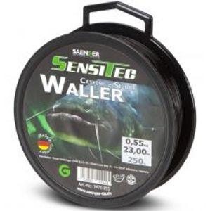 Saenger Vlasec Waller Sumec Tmavě Hnědá-Průměr 0,50 mm / Návin 300 m