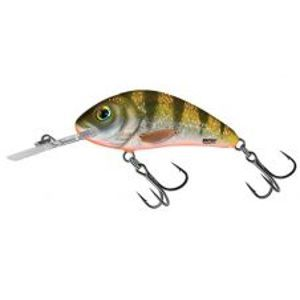 Salmo Wobler Rattlin Hornet Floating Yellow Holographic Perch-5,5 cm 10,5 g
