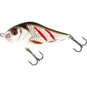 Salmo Wobler Slider Sinking Wounded Real Grey Shiner-7 cm 21 g