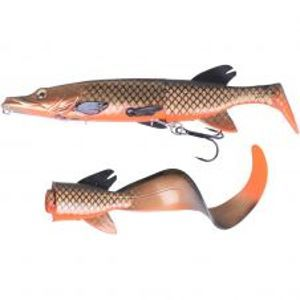 Savage Gear Gumová Nástraha 3D Hybrid Pike Red Copper Pike-25 cm 130 g