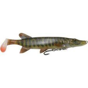 Savage Gear Gumová Nástraha 4D Pike Shad SS Striped Pike-20 cm 65 g