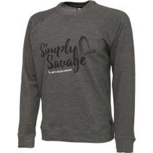 Savage Gear Mikina Simply Savage Sweater-Velikost M