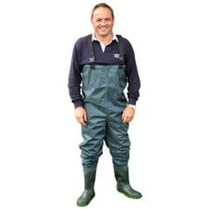 Shakespeare Prsačky Sigma Nylon PVC Vhest Wader Cleated Sole-Velikost 11
