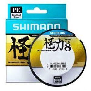Shimano Splétaná Šnůra Kairiki Pe 150 m Green-Průměr 0,12 mm / Nosnost 7 kg