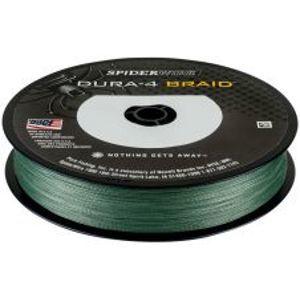 Spiderwire Splétaná Šňůra DURA4 150 m Green-Průměr 0,12 mm / Nosnost 10,5 kg