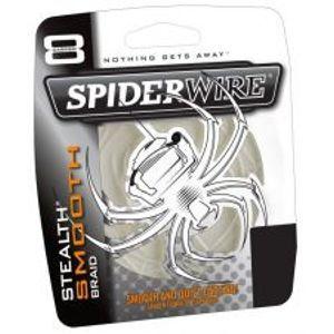 Spiderwire Splétaná šňůra Stealth Smooth 8 průhledná-Průměr 0,08 mm / Nosnost 7,3 kg / Návin 1 m