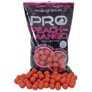 Starbaits Boilies Probiotic Peach Mango + N-Butyric-1 kg 14 mm